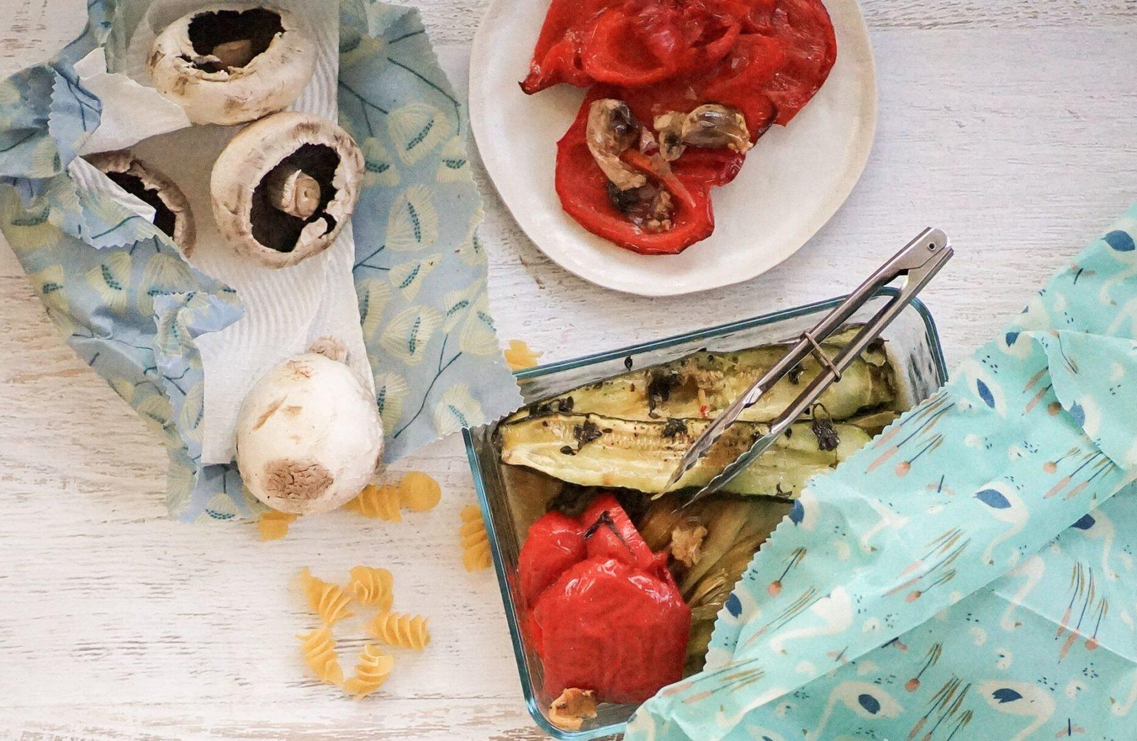 Beeswax Wraps, Eco food wrap, reusable food wraps