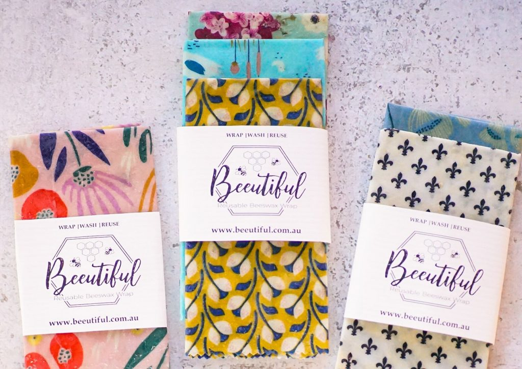 natural alternative to plastic wrap | Beeutiful Beeswax Wraps