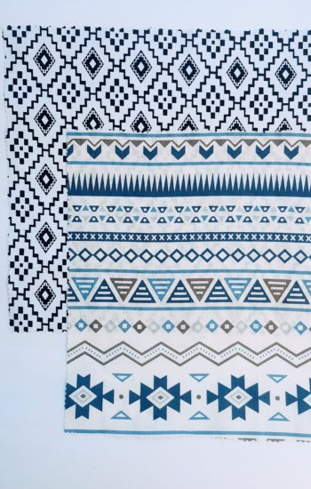 100% Cotton Fabric - Medium & Large
