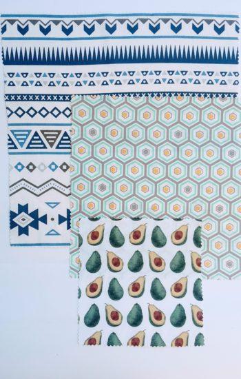 100% Cotton Fabrics – Small, Medium & Large