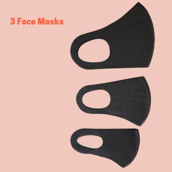 face masks black